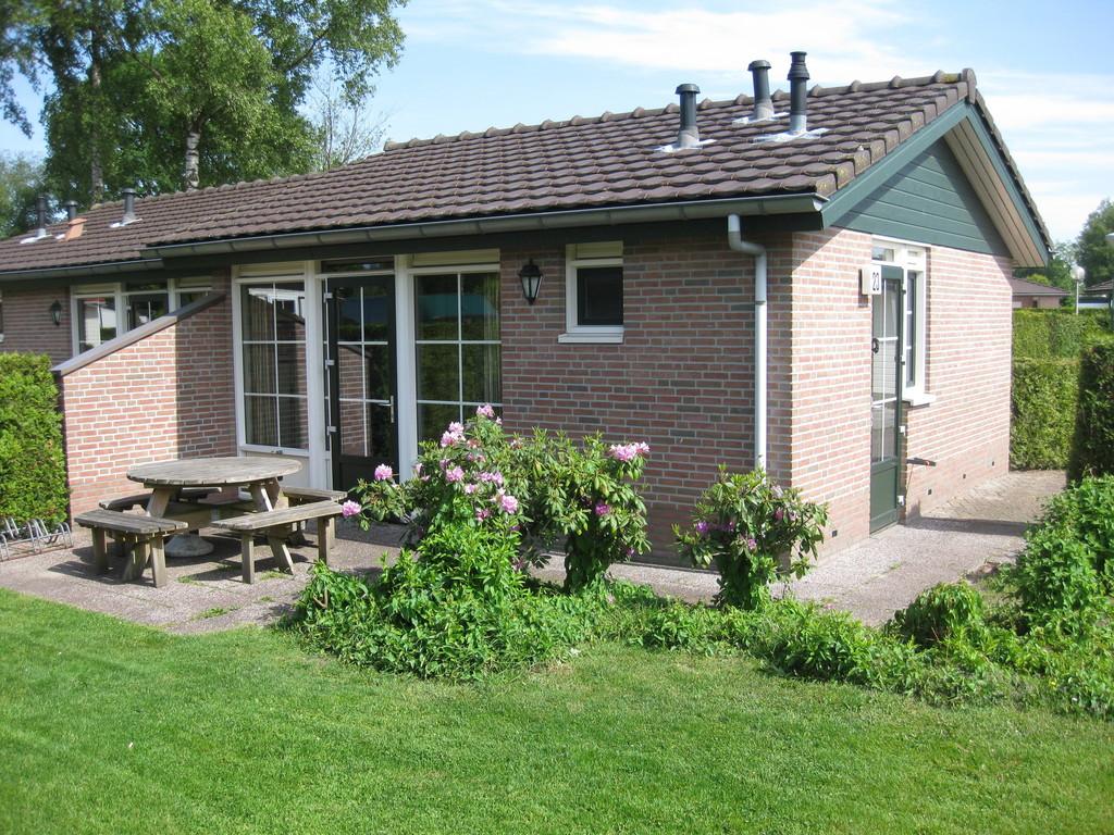 Knus 4-persoons vakantiehuisje op park in Voorthuizen Veluwe
