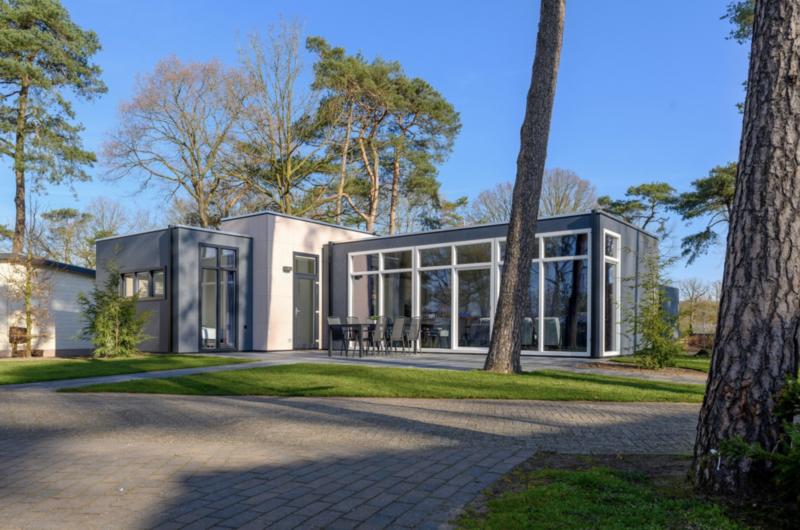 Fraaie Bosvilla voor 6 personen op park in Voorthuizen