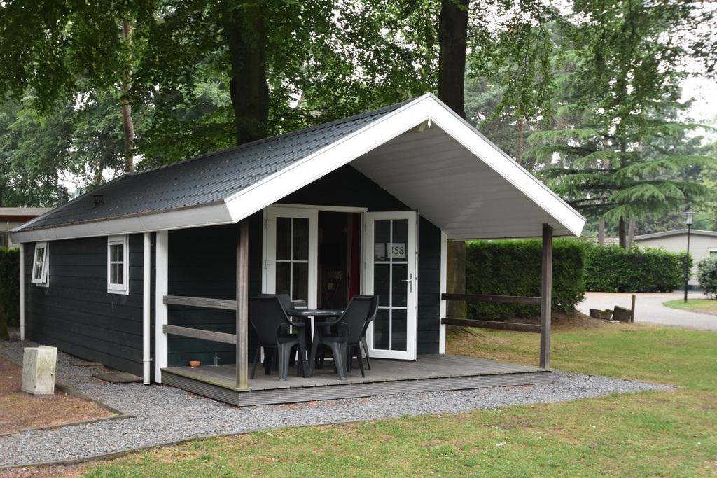 Knus 4-persoons vakantiehuisje op park in Voorthuizen