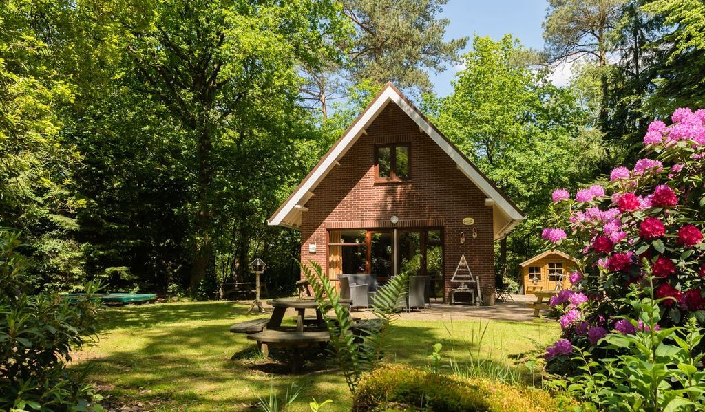 6 Persoons boshuisje in Emst Veluwe