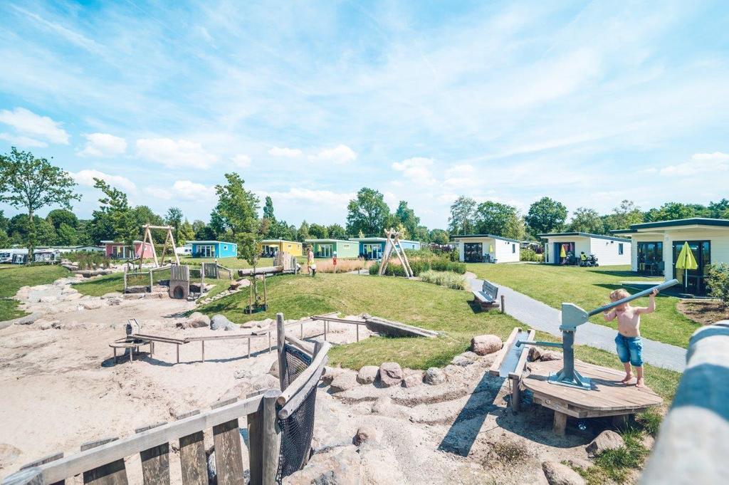 Geweldige 6-persoons Safaritent op park in Voorthuizen