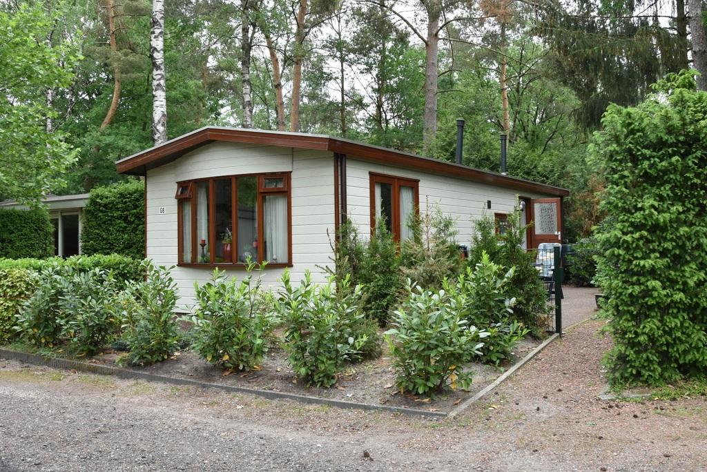 Chalet op bospark in Doornspijk