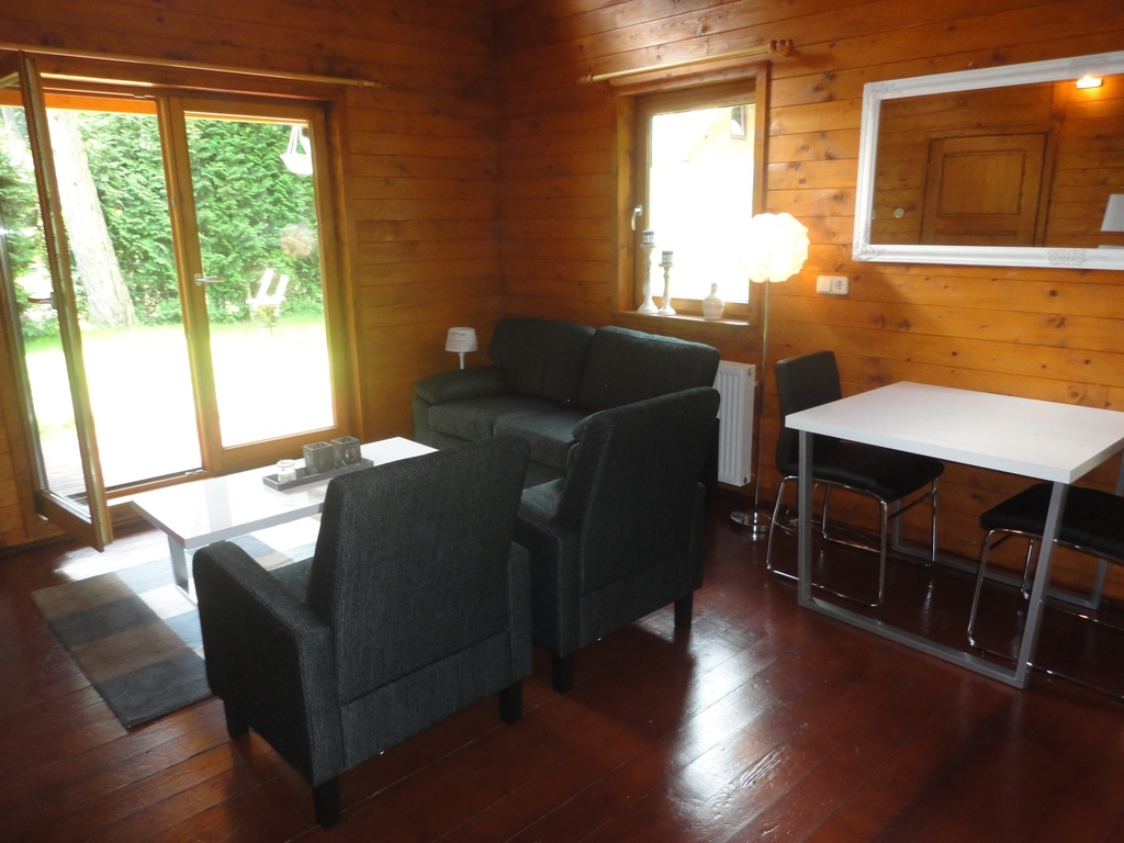 Knus 4 persoons vakantiehuisje in de bossen van Emst