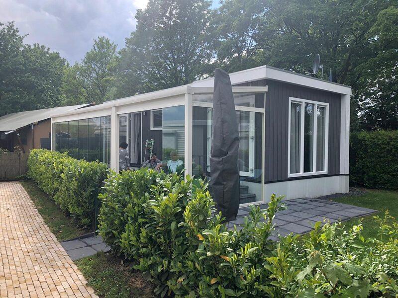 Parklodge Comfort voor 4 personen op park Rhederlaagse Meren