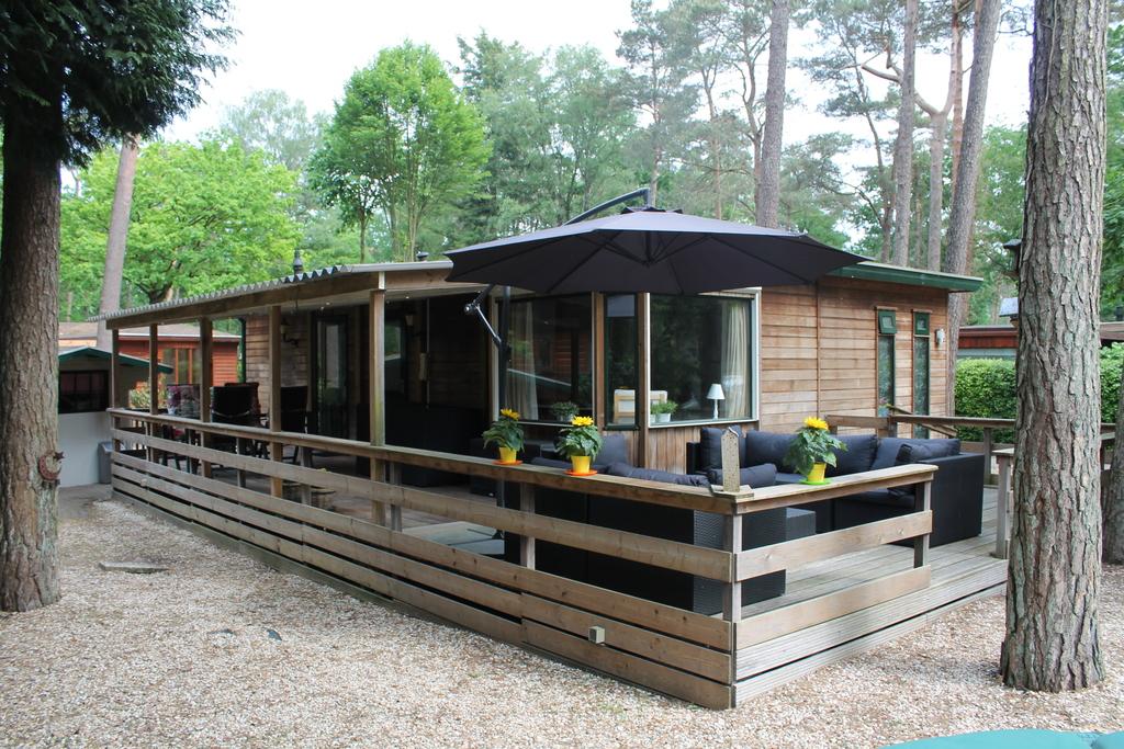 Vakantiehuis aan een vijver op Bospark in Doornspijk